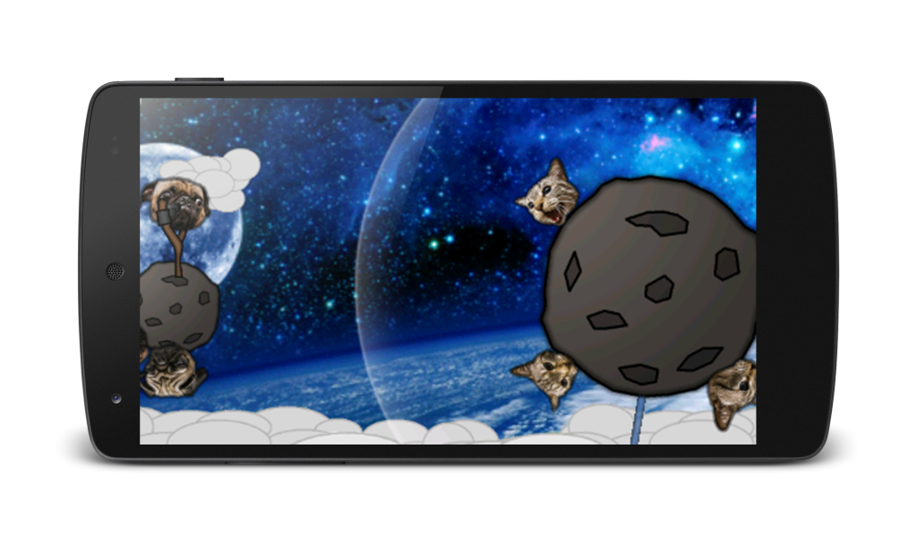 Angry Pugs in Space!